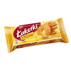 ŁAKOTKI omlós vajas keksz 168G