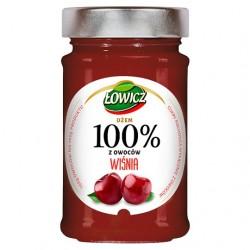 ŁOWICZ 100% Dżem Wiśniowy 220g